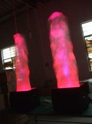 Rigeba 무대 효과를 위한 최신 판매 LED 큰 프레임 단계 기계 화재 빛