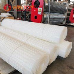 Material virgen PEAD Hoja de drenaje de plástico perforado