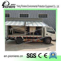 La prensa de tornillo de contenedor de deshidratación de lodos de depuradora de aguas residuales