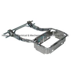 Automotive piezas metálicas de piezas de estampación metálica Apoyabrazos de electroforesis en el marco de metal