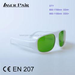 800-1700nm O. D 4+ & 900-1100nm O. D 5+ (DTY) Industries Micron laser Segurança Verde óculos