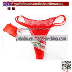 Valentinsgruß-Geschenke, die Blumen-Liebes-Spielzeug-reizvolle Frauen-Unterwäsche (P4117, Wedding sind)