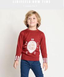 子供の衣類の男の子の涼しいセーターの漫画の純粋な綿の子供のセーター