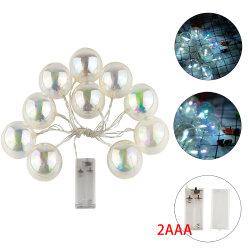 تنصّل كرة بلاستيكيّة يشكّل [لد] مصباح كهربائيّ زخرفيّة خفيفة