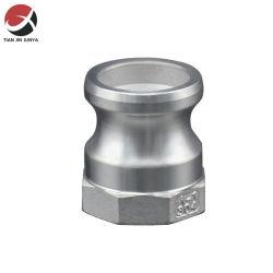 Тип a паз внутренней резьбой 304 316 разъем из нержавеющей стали быстро эксцентриковым затвором воздушный шланг соединения трубопровода