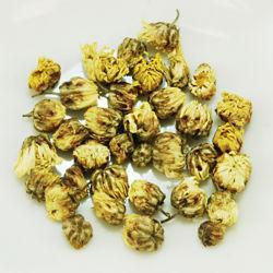 Flores naturales de la nieve de té de hierbas té de crisantemo