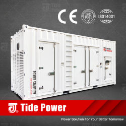 Tide Power Container Design Diesel Generator grootte 40 hq vermogensbereik Vanaf 600 kVA Cummins/Perkins/MTU/SME/Mitsubishi/Baudouin Safety&Security&Salable