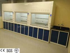 SGS 세륨 증명서 (JH-FC019)를 가진 강철 실험실 산과 알칼리 저항 증기 두건 실험실 가구