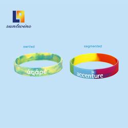 Custom силиконовый браслет кольцо подарок для продвижения моды аксессуары