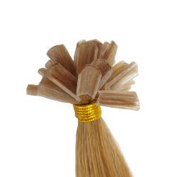 """50g 20'' 22"""" de la cutícula alineados de la Queratina italiano Fusion derechos Remy, secador de pelo de punta plana pegado Pre 1g/."""