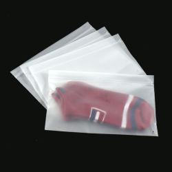 Gute Qualitätsversiegeln zoll bereiftes Reißverschluss-Verschluss-Firmenzeichen das Polybeutel-Reißverschluss-Verschluss-Plastiktasche-Kleidung-Packen wieder