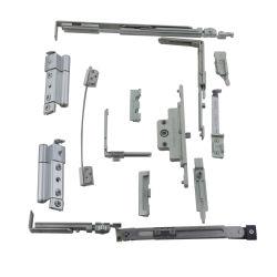Стекло двери цинкового сплава Top-Hung оборудования дверная рама перемещена окно установки