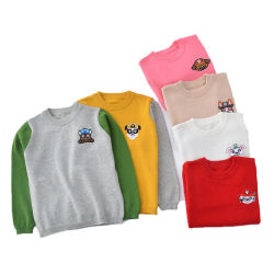 Breien de Truien van de Sweater van de Directe Kinderen van de Verkoop van de fabriek de Sweater van de Airconditioning van de Sweater