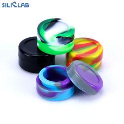 5ml de Container van het Silicone van de Kruiken van de SCHAR van de was