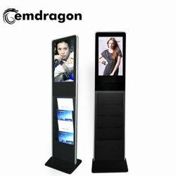 AD 플레이어 광고 디스플레이 브로셔 CE 포함 27인치 및 ISO9001 인증서 LCD 디지털 사이니지 비디오 광고 미디어 플레이어 포스터 인쇄