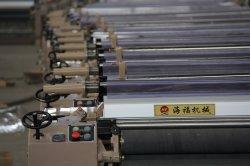 Haifu 기계장치 Hf 851 190cm 고속 물 분출 직조기 전자 지류 캠 도비 직물 기계 길쌈 기계