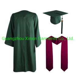 卸し売り無光沢の金の高校卒業の帽子のガウンのふさ(U189)