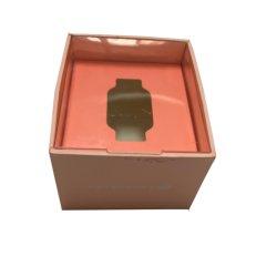 Роскошный Логотип печати переработанных картона квадратных детей по телефону смотреть Apple Смотрите документ подарок упаковка упаковка картонная коробка с пластиковой крышки багажника