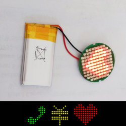 プリセット3アイコンのGraphciのより小さい自動車は2.5cmの直径PCB LED表示を変更する