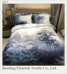 염색한 & 인쇄 호텔/가정 직물 시트와 베갯잇 /Bed 장 위안자 덮개 침구