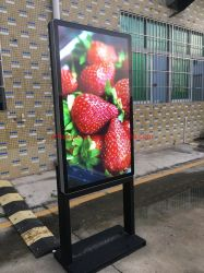 E-Fluence una visualizzazione esterna da 47 pollici con il comitato ultrasottile Media Player di pubblicità impermeabile del contrassegno HD LG dell'affissione a cristalli liquidi Digital