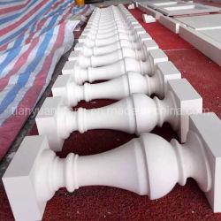 Baluster aus Marmor mit Geländer aus Granit