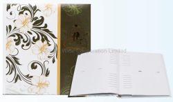 Kundenspezifisches Buch-verklemmtes Drucken-Hochzeits-Foto-Album 4*6 '', 5*7 ''
