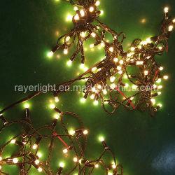 La decoración del jardín exterior de caucho resistente al agua de las luces LED String decoración vacaciones