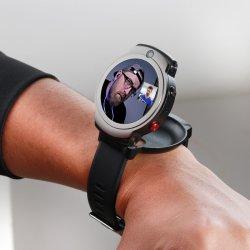 Concha de almeja, rotar, diseño exclusivo reloj teléfono inteligente 4G, doble cámara y GPS Beidou monitorización cardíaca de gimnasia deportiva resistente al agua
