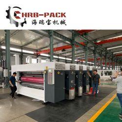 Hrb 4 Цветной принтер вращающегося режущего штампов картонная коробка машины