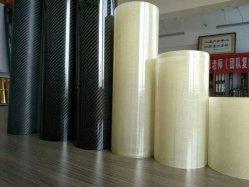 Haute brillance 3K ARMURE SERGÉ Tube en fibre de carbone Tube PRF en fibre de verre avec des prix bon marché