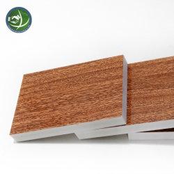 Le transfert de chaleur du grain de bois d'impression feuille PVC mousse PVC Conseil pour la construction