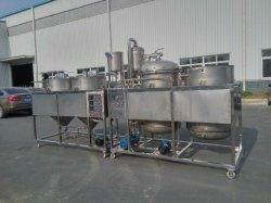 очистка пищевого масла 1.5-2тонн сырой нефти Refiner машины для очистки масла фильтрация