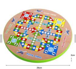 Giocattoli intellettuali di legno all'ingrosso dei giochi da tavolo degli ispettori cinesi del gioco della Tabella per i capretti