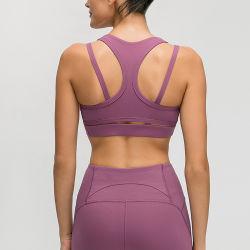 Design personalizado sutiã de desporto de ioga OEM Top Mulheres Vestuário de exercícios de fitness