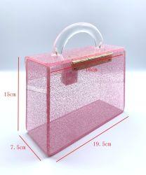 جديدة حقيبة تصميم خرزة حقيبة أكريليكيّ [إفنينغ بغ] [هندمد] لأنّ نساء