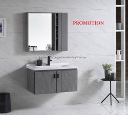 Gabinete de Promoção - Sanitária Banheira vendendo madeira contraplacada vaidade para casa de banho (T006-80K)