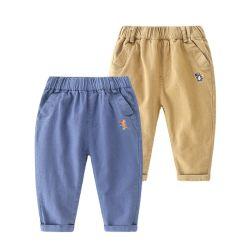 Jeans dei capretti delle ragazze di autunno della molla dei jeans dei ragazzi che coprono i jeans dei pantaloni dei pantaloni del denim casuale della neonata dei bambini infantili del ragazzo