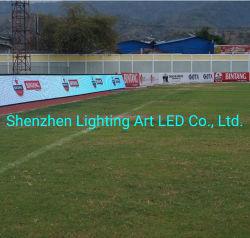 LED جدار فيديو خارجي متعدد الإعلانات ملعب كرة قدم LED الشاشة