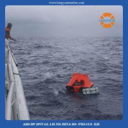 바다 팽창식 구명 뗏목이, 던지 에 또는 또는 Self-Righting 또는 열리는 뒤집을 수 있는 구명 뗏목 철주 발사한다