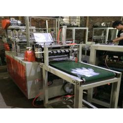 De HDPE automática LDPE PE máquina de fazer luvas plásticas descartáveis