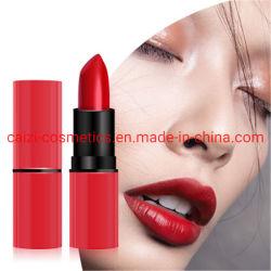 Alta qualità impermeabile cosmetica OEM/ODM del rossetto opaco rosso sexy