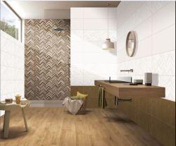 Innenbadezimmer-und Küche-Gebäude Vitrified heißer Verkauf glasig-glänzende keramische Wand-Fliesen