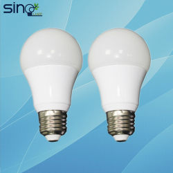 Una fábrica China60 Bombilla LED de alto brillo 220V 3W E27 de la vivienda de la luz de lámpara LED