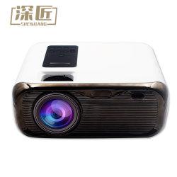 Proyector digital de vídeo 1080p Full HD TV Box Beamer LED LCD portátil mini proyector de cine en casa
