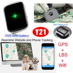 Animale domestico lungo mini GPS di ore lavorative che segue la scheda Nano di supporto di SIM