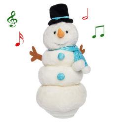 Regalo de Navidad Navidad muñeco de nieve de juguetes de peluche