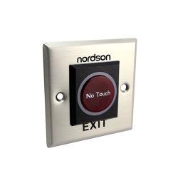 Capteur infrarouge d'urgence de l'accès étanche non tactile de déverrouillage de porte Push Bouton Quitter