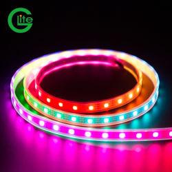 Striscia indirizzabile a 60 LED Glite RGB Magic Digital LED pixel Strip 2812 non impermeabile con alimentatore e controller