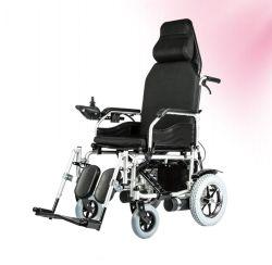 싼 가격 접히는 최고 뒤 기대는 힘 전자 휠체어